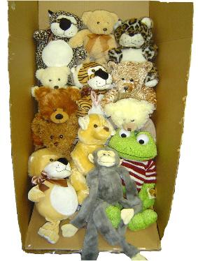 free shipping stuffed animals mix