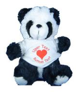 panda bear from ms teddy bear