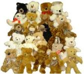 mix teddy bears plush animals